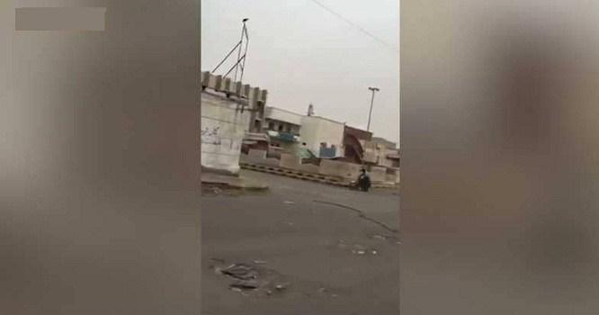 قوات الشرعية مرت من هنا : صرخة الحوثي منكسة في شوارع الحديدة بعد فرار المليشيات .. شاهد الصورة