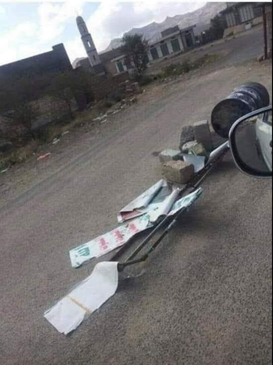 شاهد ( الصورة ) التي فجرت سخط وغضب قيادة جماعة الحوثي والتقطت من احد شوارع الحديدة !