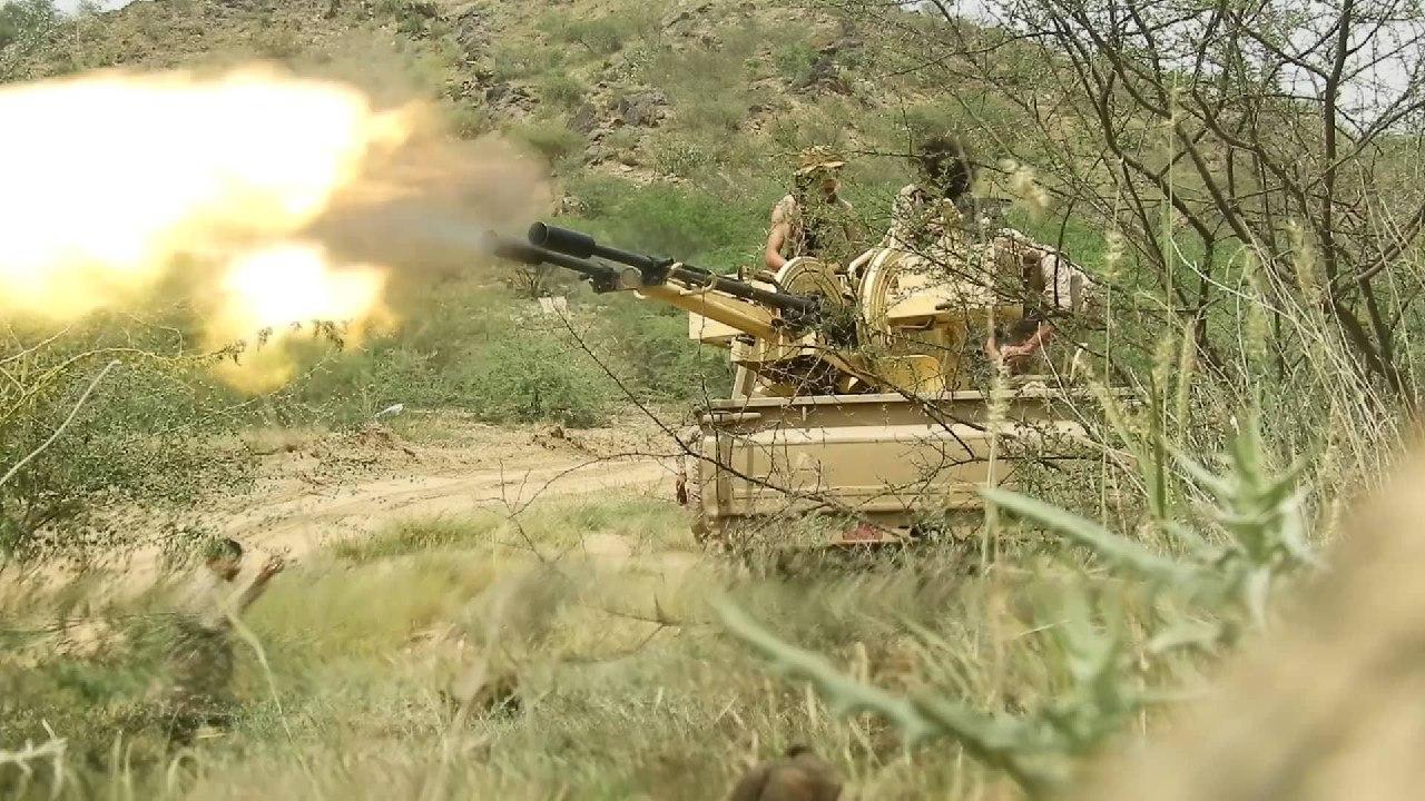 صعدة  قوات الجيش الوطني تشدد الخناق على المليشيا الحوثية في جبهة رازح