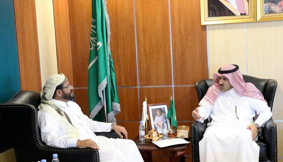المحافظ العرادة يبحث مع السفير السعودي آل جابر دعم المملكة لتنفيذ عدد من المشاريع بمأرب