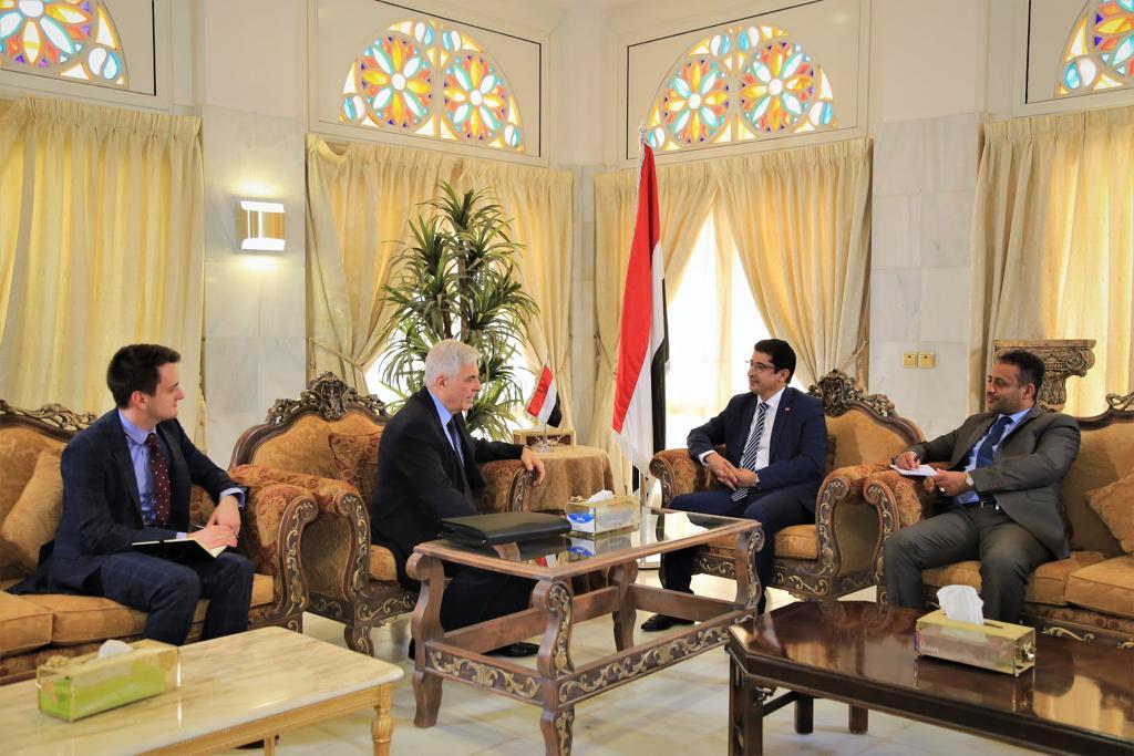 وكيل وزارة الخارجية د.بجاش يلتقي السفير الروسي لدى بلادنا