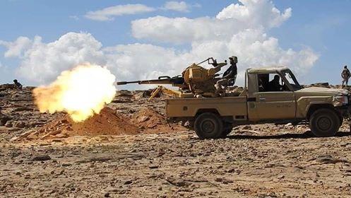 الضالع| عشرات القتلى والجرحى من المليشيا الحوثية بنيران الجيش وغارات للتحالف العربي